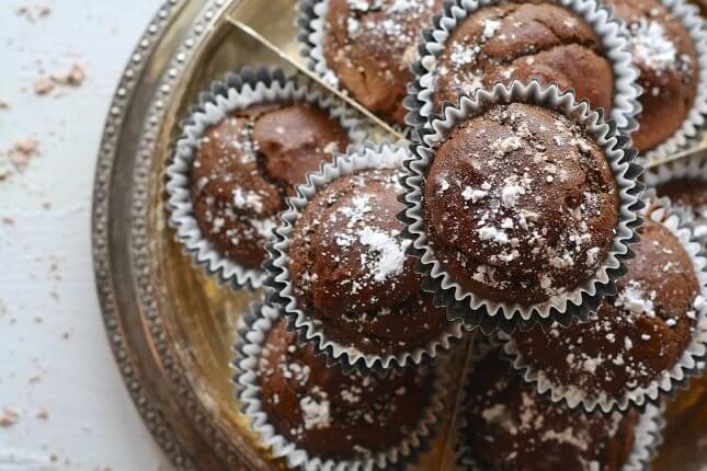 Pihe-puha kakaós muffin – gluténmentes, tejmentes
