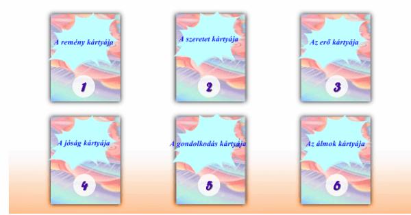 Melyik kártyát választod? Fontos üzenetet rejt mindegyik