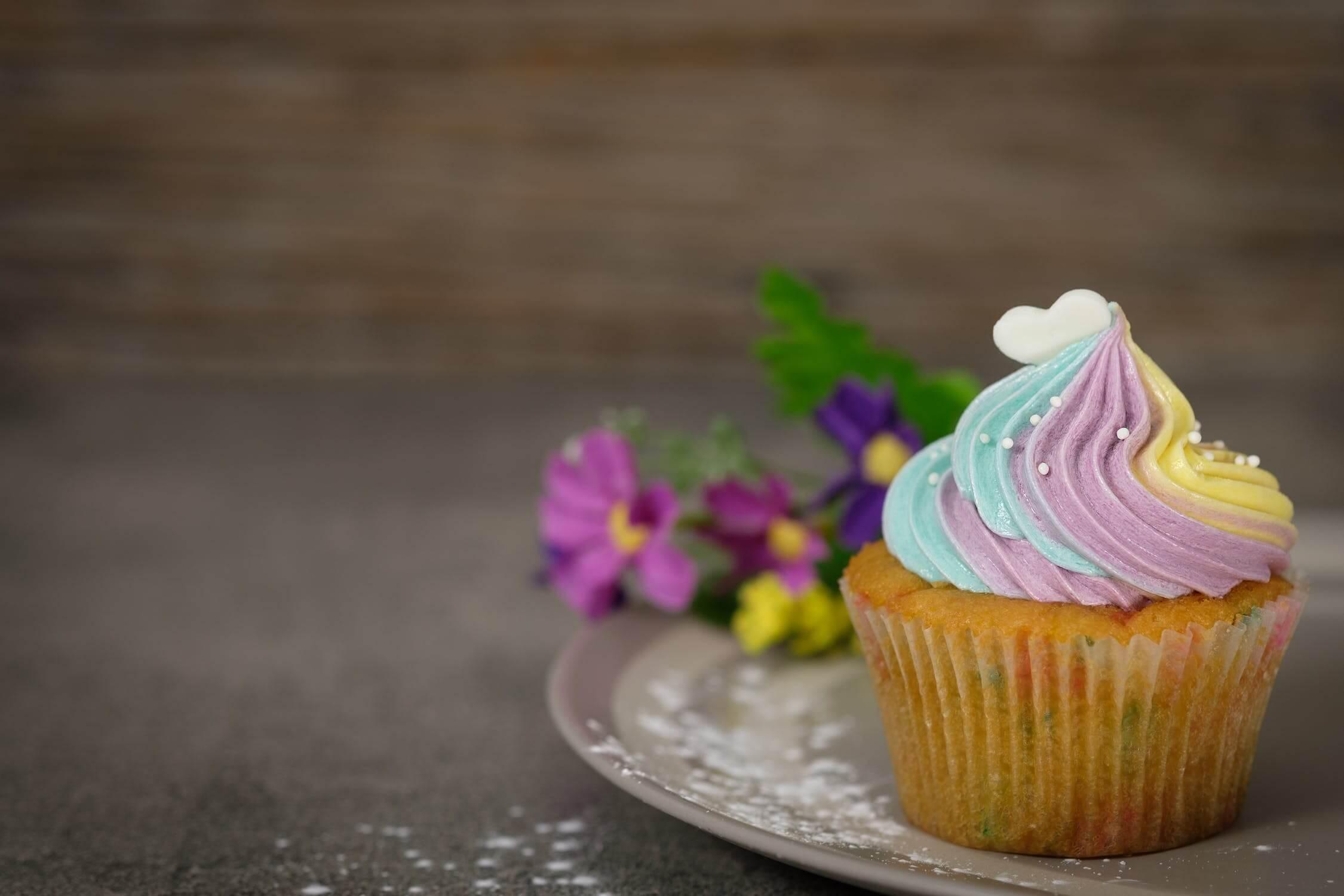 Gluténmentes cupcake - 3 perc munka és már mehet is a sütőbe