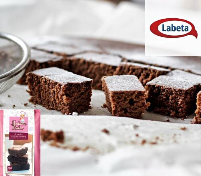 Gluténmentes brownie Madame Loulou céllisztből.
