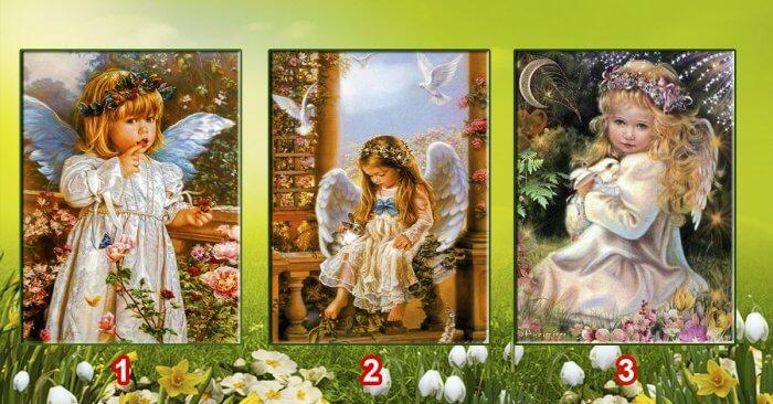 Válassz egy angyalt, elárulja mi vár rád