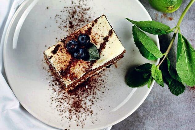Cappuccino ízű gluténmentes sütemény - Madame loulou céllisztből