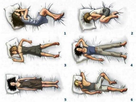 Milyen pózban alszol? Ezt árulja el rólad