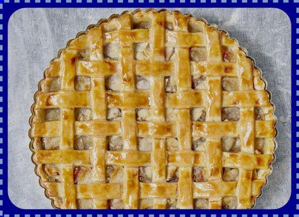 Fenséges gluténmentes almás pite Labeta céllisztből