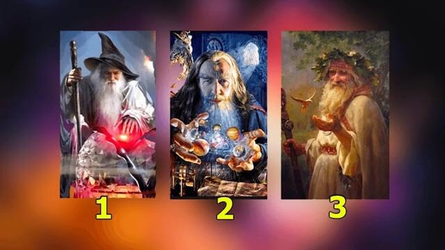 A bölcs varázsló elmondja mi vár Rád - Találó teszt
